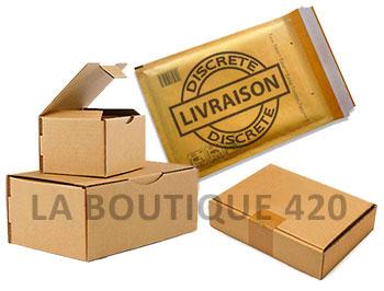 emballage livraison discrete